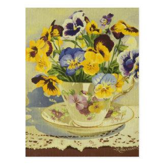 1187 pensamientos en postal de la taza de té