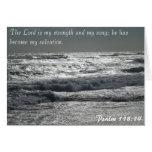 118:14 del salmo - el señor es mi fuerza felicitaciones