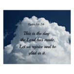 118:24 del salmo éste es el día el hath del señor  impresiones