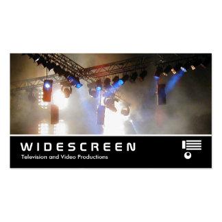 118 con pantalla grande arsenal de iluminación II Tarjetas De Visita