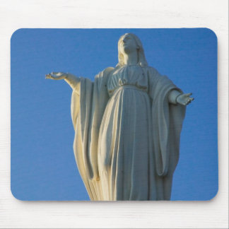 118-foot statue of the Virgin Mary on San Mouse Pad