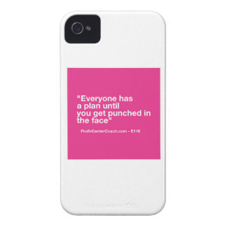 118- Small Business Owner Gift Punch Face Change Case-Mate iPhone 4 Case