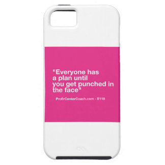118- Small Business Owner Gift Punch Face Change iPhone SE/5/5s Case