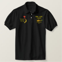 118th AHC Vietnam Veteran Map Embroidered Shirt