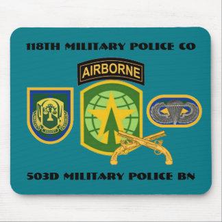 118TH MILITARY POLICE COMPANY MOUSEPAD