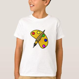 1194983991962367982paint.svg Artist palette colour T-Shirt