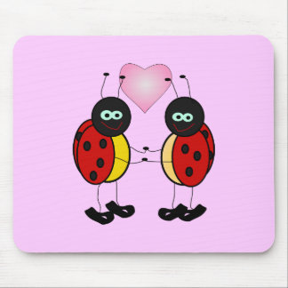 1195423889296956647Machovka_lady_bugs.svg Mouse Pad