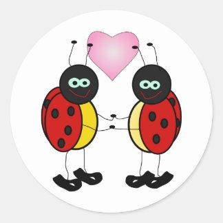 1195423889296956647Machovka_lady_bugs.svg Pegatina Redonda