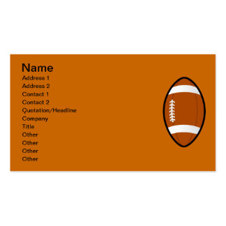11971194381619502598molumen_Rugby_ball.svg.hi foot Double-Sided Standard Business Cards (Pack Of 100)