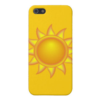11971486551534036964ivak_Decorative_Sun.svg Bright iPhone 5 Case