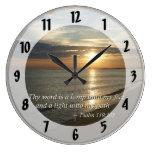 119:105 del salmo Thy palabra es una lámpara Reloj