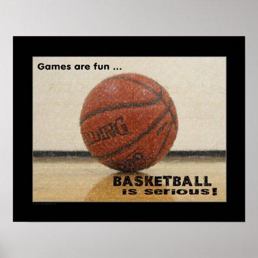 #119 (Matte) Basketball Poster