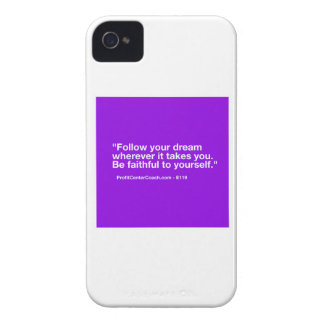 119 Small Business Owner Gift - Follow Dream iPhone 4 Cover