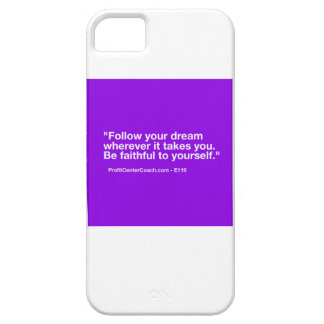119 Small Business Owner Gift - Follow Dream iPhone SE/5/5s Case