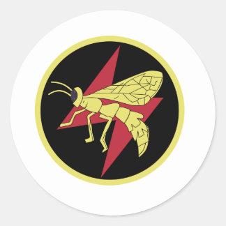 119 Squadron Classic Round Sticker