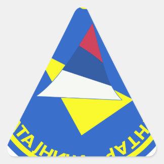 119o TRAGO del REGIMIENTO del HELICÓPTERO de Pegatinas De Triangulo