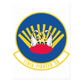 119th Fighter Squadron Postcard