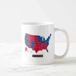 11.04.08: The Electoral Map that Changed History Coffee Mug