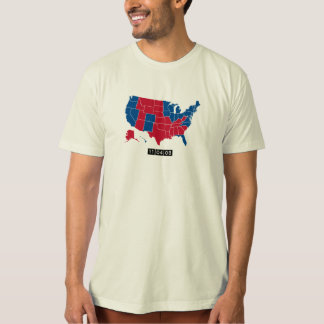 11.04.08: The Electoral Map that Changed History T-Shirt