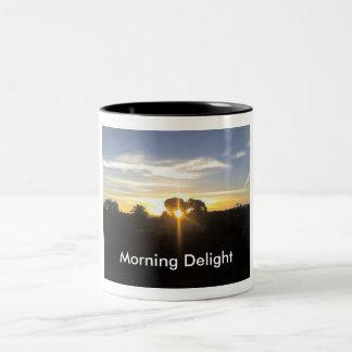 11-04-10 This morning's Sun Rise Two-Tone Coffee Mug