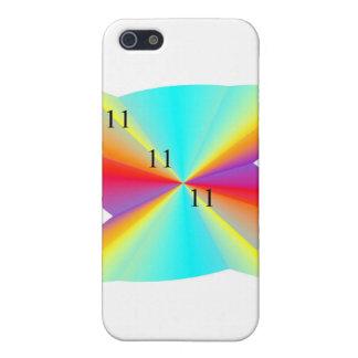 11 11 11 arco iris S iPhone 5 Fundas