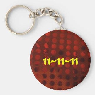 11/11/11 LLAVERO REDONDO TIPO PIN