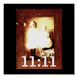 11:11 de Genetix del ángel Póster