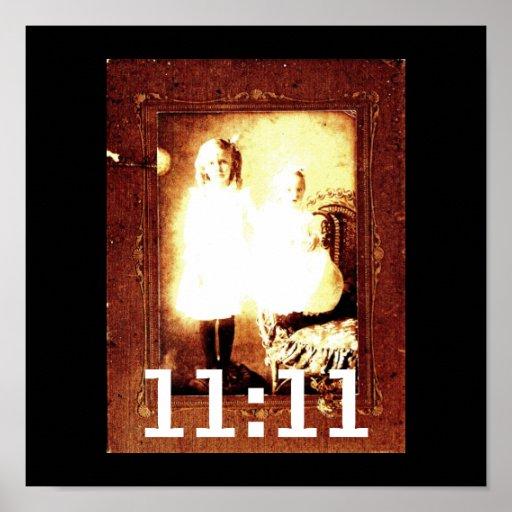 11:11 de Genetix del ángel Poster
