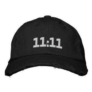 11:11 GORRAS DE BEISBOL BORDADAS