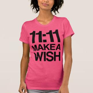 11:11 MAKE A WISH TSHIRTS