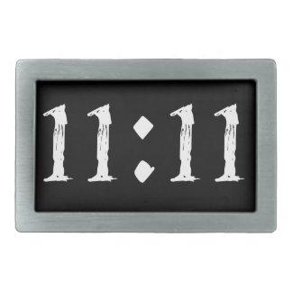 11:11 RECTANGULAR BELT BUCKLE