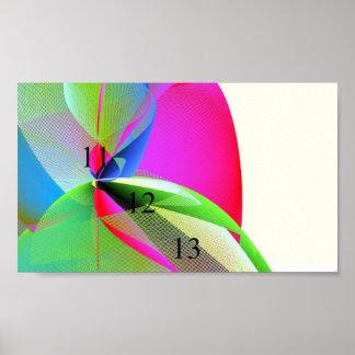 11/12/13 Pastel Rainbow Poster 111213