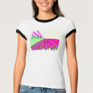 11/12/13 Pink Paradise Ladies Ringer T-Shirt