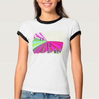 11/12/13 Pink Paradise Ladies Ringer T-Shirt