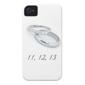 11,12.13 Save the Date Case-Mate iPhone 4 Case