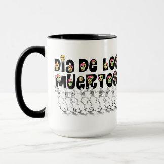 11-1 Dia De Los Muertos(Dancing Bones) Mug