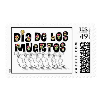11-1 Dia De Los Muertos(Dancing Bones) Stamps