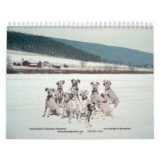 11-2008_02, el Dalmatian doble de D… - Modificado Calendario De Pared