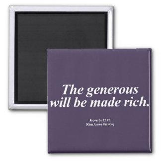 11:25 Abbrev de los proverbios de la abundancia Imán De Frigorifico