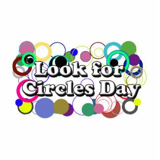 11-2 busque el día de los círculos escultura fotografica