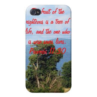 11:30 de los proverbios iPhone 4 funda