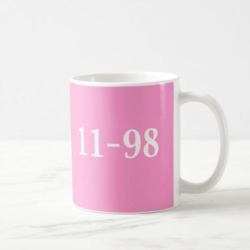 11-98 regalos del oficial de la reunión taza
