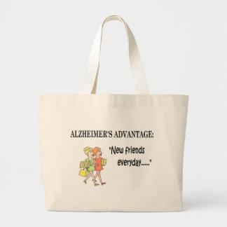 11-Alzheimer's Advantage.jpg Large Tote Bag
