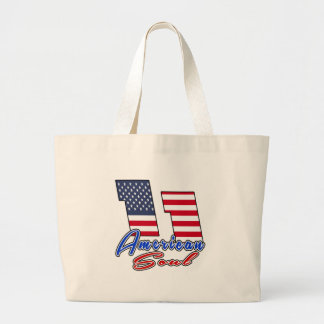 11 American Soul Birthday Designs Jumbo Tote Bag