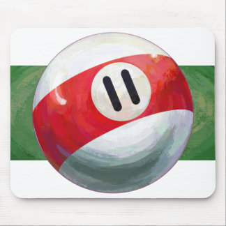 11 Ball Mouse Pad