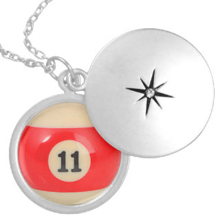 """11 Ball"" pool ball design jewelry"