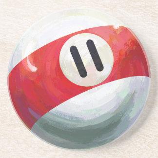 11 Ball Sandstone Coaster