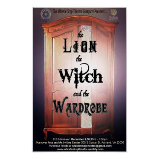 11 by 17 Poster, The Lion the Witch & the Wardrobe Poster