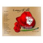 11 de septiembre 9/11 postal conmemorativa conmemo