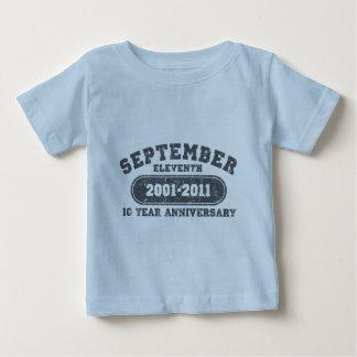 11 de septiembre - aniversario 2011 t shirts